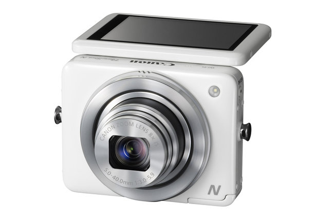 Canon PowerShot N offers tilting screen, any-way-up photography - photo 1