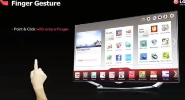 You won't just need a Magic Remote for an LG Smart TV, you can also use your finger - photo 2