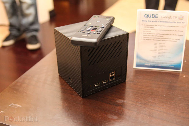 Asus Qube: Google TV gets a new face at CES, we go hands-on - photo 3