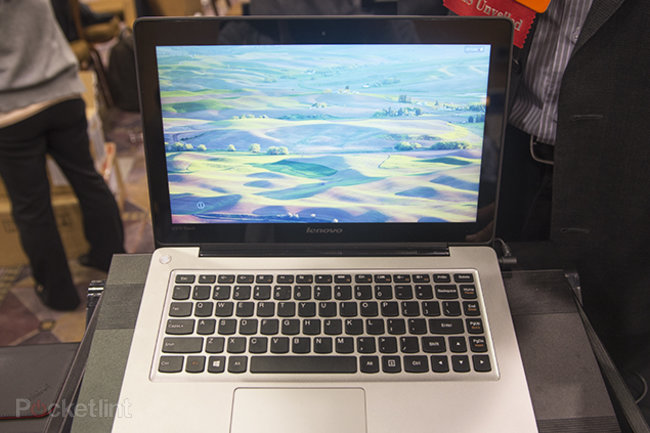 Lenovo IdeaPad U310 Touch laptop pictures and hands-on - photo 1