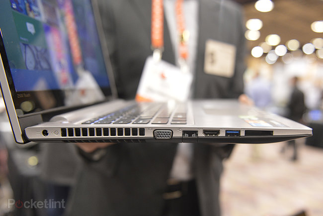 Lenovo IdeaPad Z500 Touch 15-inch laptop pictures and hands-on - photo 3