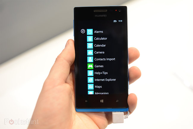 Huawei Ascend W1 pictures and hands-on - photo 3