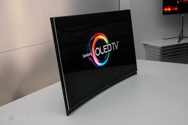 Samsung and LG fight for world's first curved OLED screen title   - photo 1