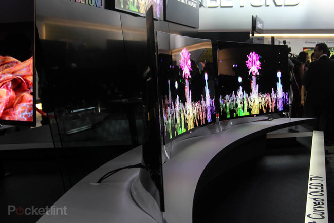 Samsung and LG fight for world's first curved OLED screen title   - photo 2