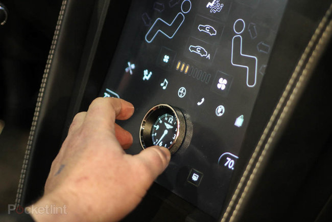 QNX car platform 2.0 concept in a Bentley Continental GTC pictures and hands-on - photo 12