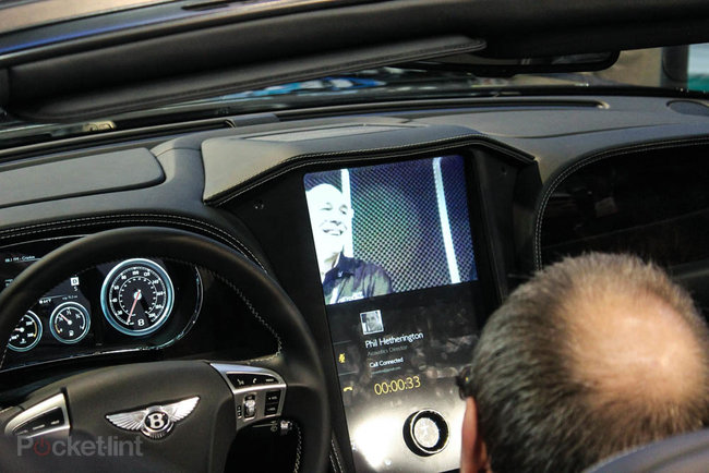 QNX car platform 2.0 concept in a Bentley Continental GTC pictures and hands-on - photo 15