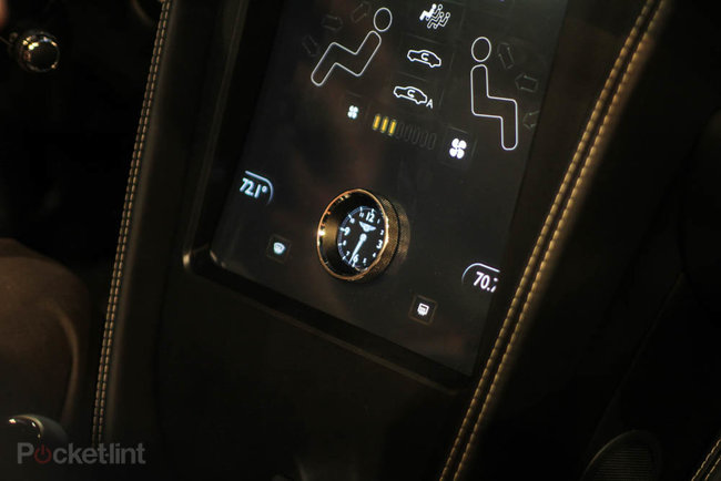 QNX car platform 2.0 concept in a Bentley Continental GTC pictures and hands-on - photo 7