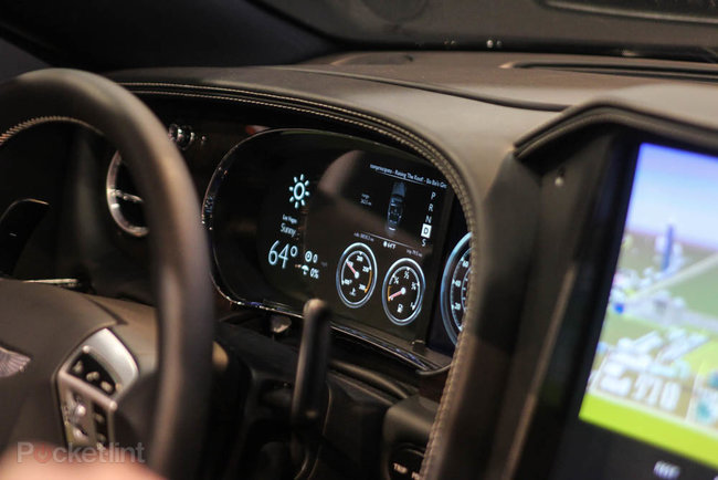 QNX car platform 2.0 concept in a Bentley Continental GTC pictures and hands-on - photo 9