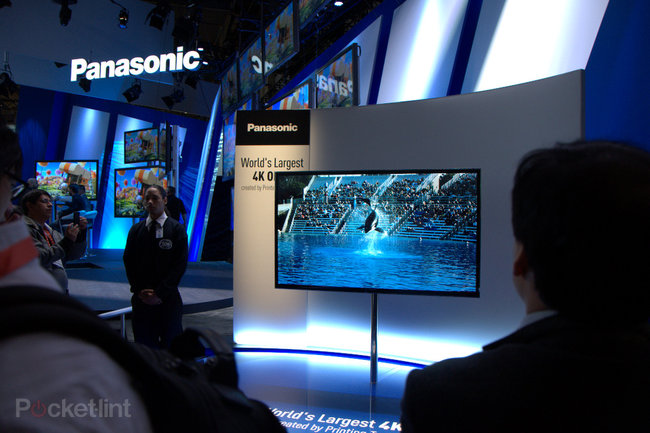 Panasonic 56-inch 4K OLED TV pictures and eyes-on - photo 1