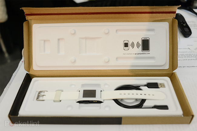 Pebble smart watch pictures and hands-on - photo 10