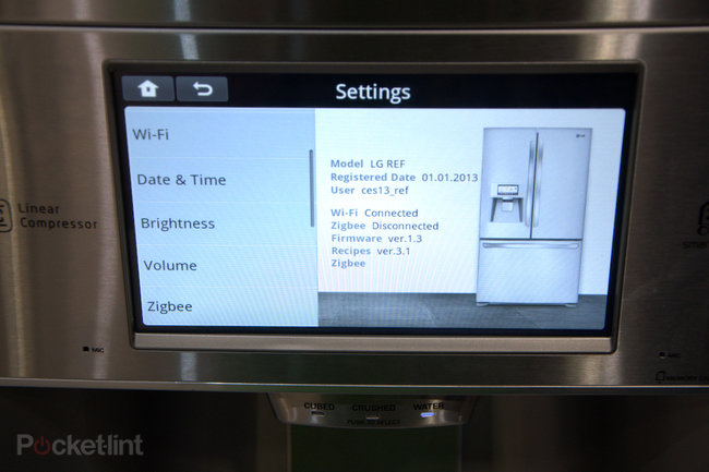 LG smart fridge pictures and hands-on - photo 12
