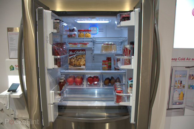 LG smart fridge pictures and hands-on - photo 6
