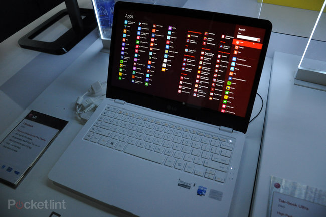 LG ultrabook, slider PC and desktop all-in-one pictures and hands-on - photo 15