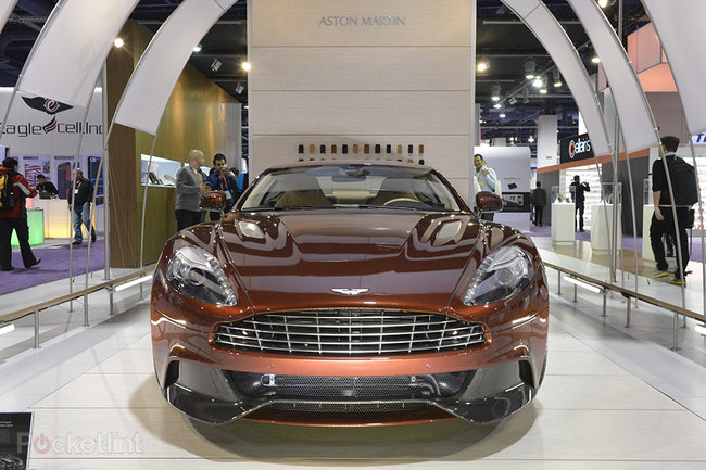 Aston Martin Vanquish 2014 pictures and eyes-on - photo 1