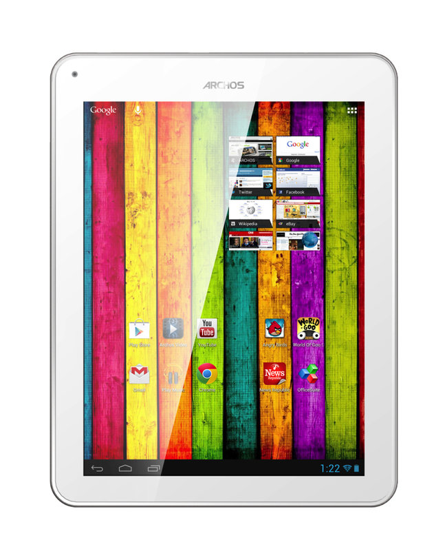 Archos Titanium: Affordable tablets at all sizes - photo 2