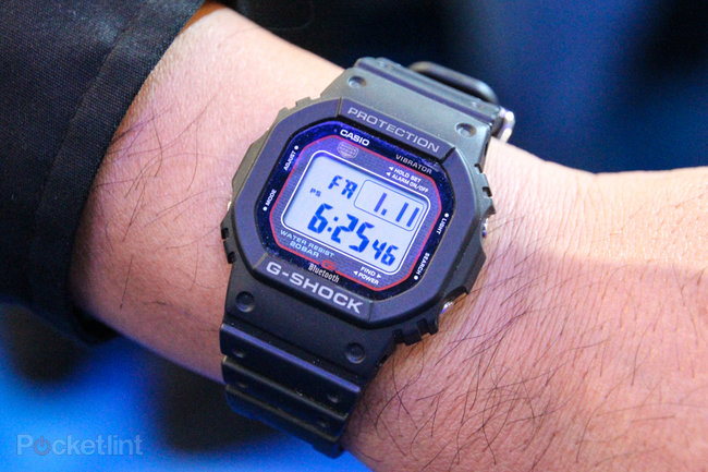 Casio G-Shock GB-5600A Bluetooth iPhone watch pictures and hands-on - photo 1