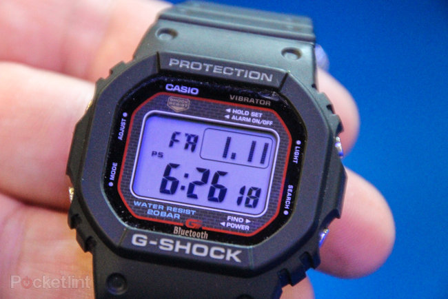 Casio G-Shock GB-5600A Bluetooth iPhone watch pictures and hands-on - photo 9