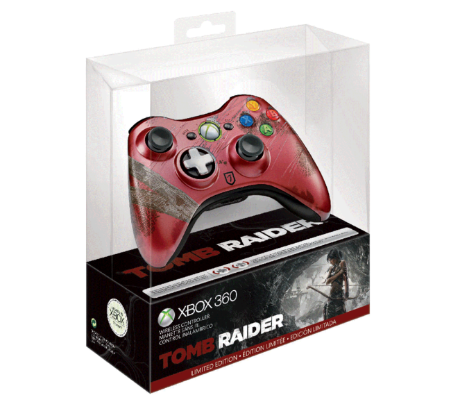 Limited Edition Tomb Raider Xbox 360 controller unveiled - photo 2