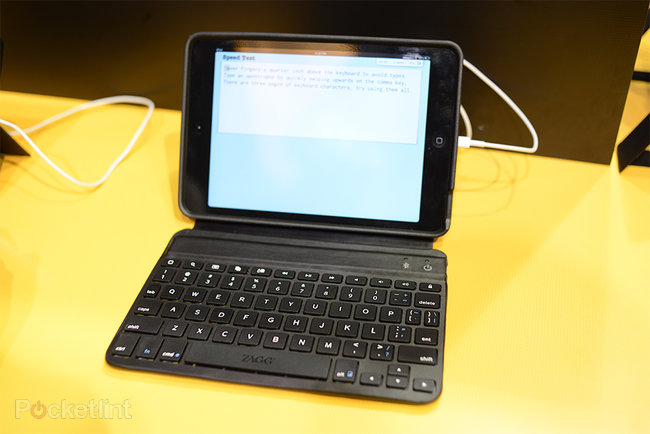 ZaggKeys Mini 7 iPad mini keyboard case pictures and hands-on - photo 1