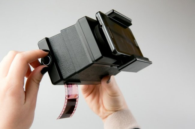 Lomography film scanner lets you share 35mm film from a smartphone - photo 1