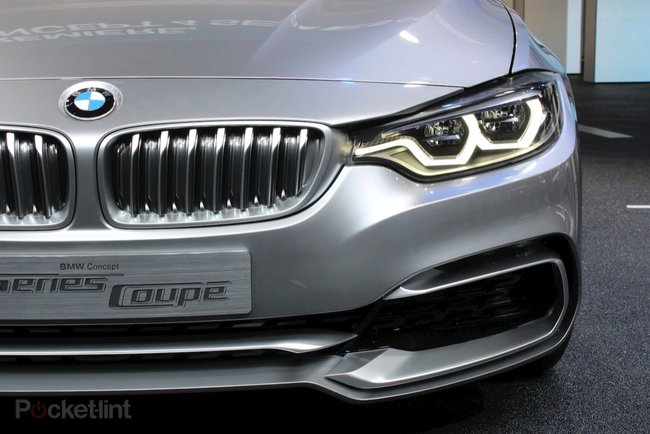 BMW 4-Series Coupe Concept pictures and hands-on - photo 3