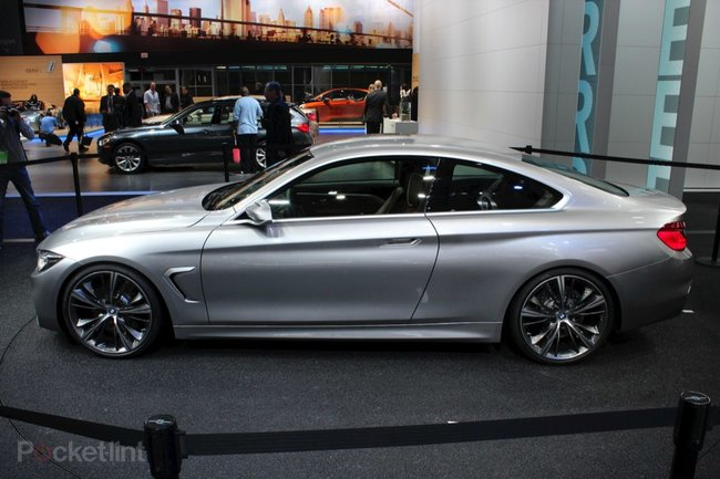 BMW 4-Series Coupe Concept pictures and hands-on - photo 4