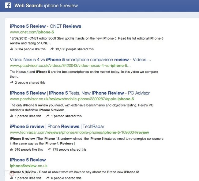 Facebook Graph Search goes live, we go hands-on - photo 7
