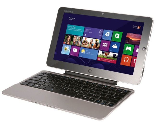 Gigabyte debuts Windows 8 tablet, 17-inch gaming laptop and more - photo 1