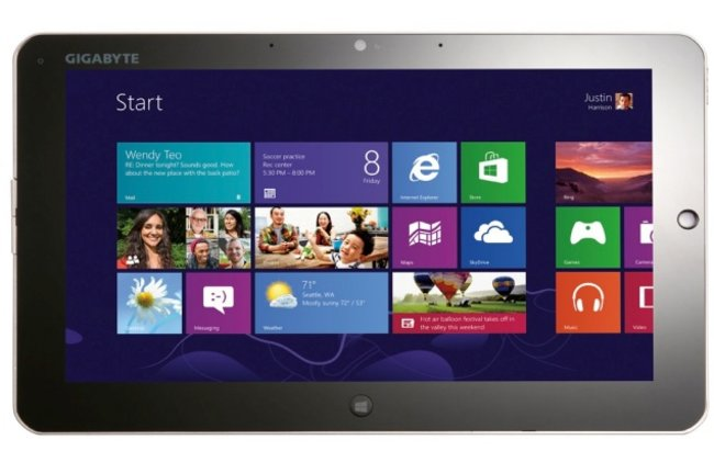 Gigabyte debuts Windows 8 tablet, 17-inch gaming laptop and more - photo 2