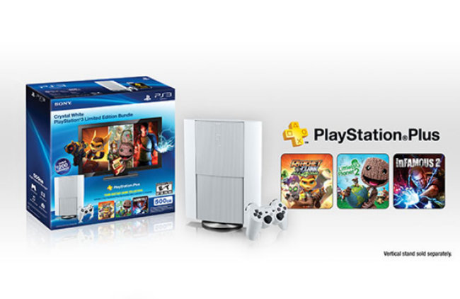 Sony launches white PlayStation 3 in North America with 500GB HDD and PS Plus included - photo 1