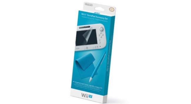 Nintendo Accessory Set for Wii U adds stylus and screen protection - photo 2