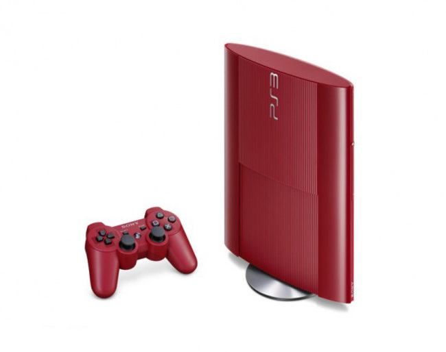 Sony preps garnet red and azurite blue superslim PS3s for Japan - photo 2