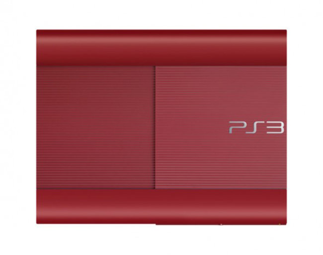 Sony preps garnet red and azurite blue superslim PS3s for Japan - photo 3