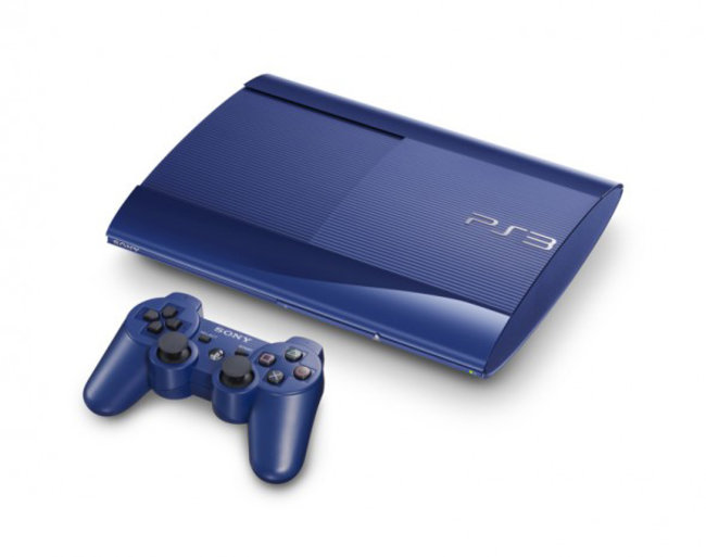 Sony preps garnet red and azurite blue superslim PS3s for Japan - photo 4