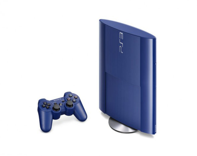 Sony preps garnet red and azurite blue superslim PS3s for Japan - photo 5