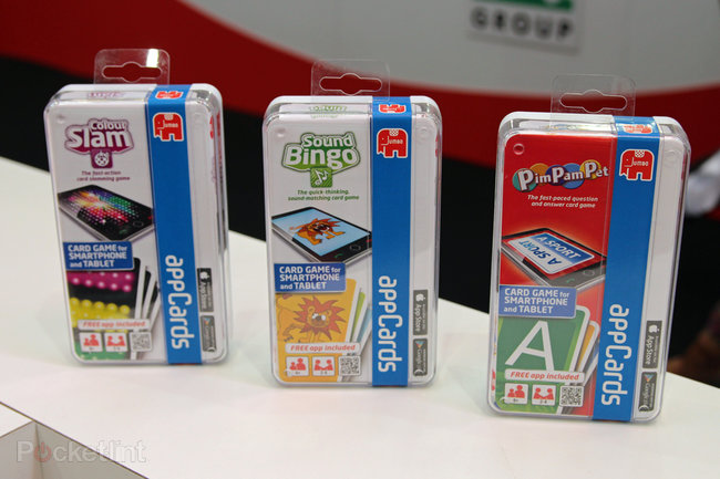 Jumbo appCards bring interactive card games to your iPad or Android tablet - photo 1