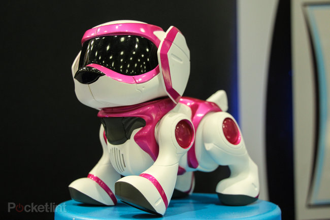 Teksta the Robotic Puppy (2013) pictures and hands-on - photo 8