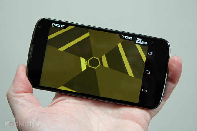 APP OF THE DAY: Super Hexagon review (Android/iPhone) - photo 1