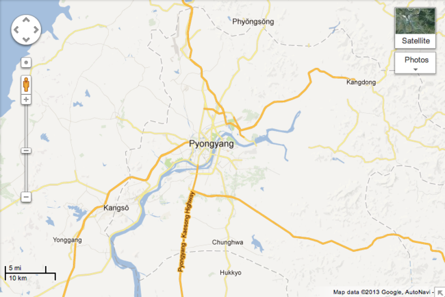 Google Maps makes inroads into North Korea, thanks to citizens - photo 3