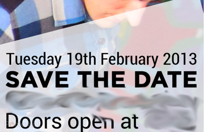 HTC confirms 19 February London press event: HTC M7 launch? - photo 1