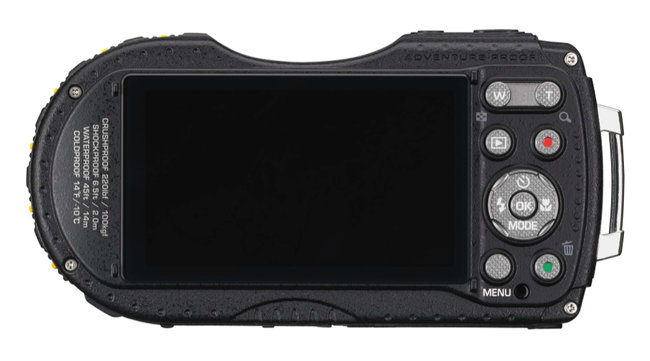 Pentax WG-3 GPS features Qi wireless charging, second display, is adventure proof - photo 5