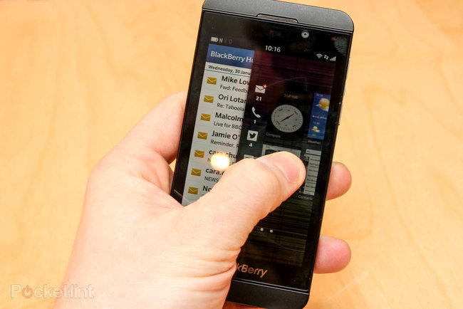 Hands-on: BlackBerry Z10 review - photo 14