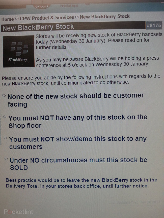 Carphone Warehouse has BlackBerry Z10 stock ready to go, white version inbound (pictures) - photo 4