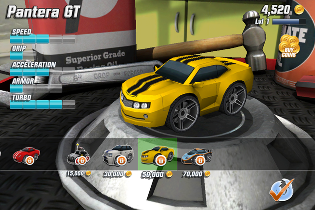 APP OF THE DAY: Table Top Racing review (iPhone) - photo 11