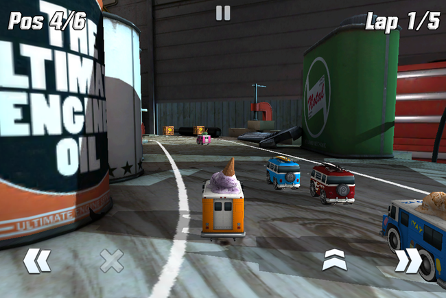 APP OF THE DAY: Table Top Racing review (iPhone) - photo 6