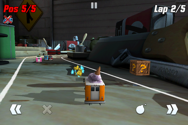 APP OF THE DAY: Table Top Racing review (iPhone) - photo 7