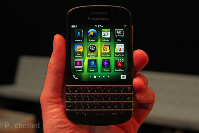 BlackBerry Q10 pictures and hands-on - photo 4