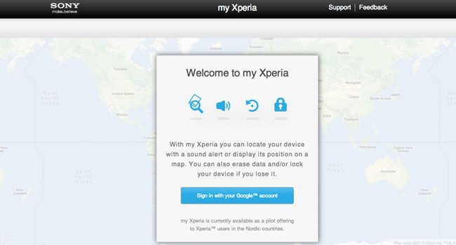 Sony 'My Xperia' will help find your lost Xperia handset - photo 2