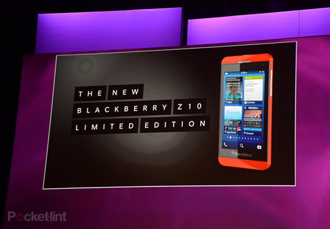 Red BlackBerry Z10 announced, but you can't buy it - photo 1