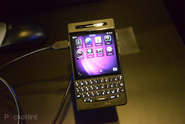 BlackBerry Dev Alpha C pictures and hands-on - photo 8